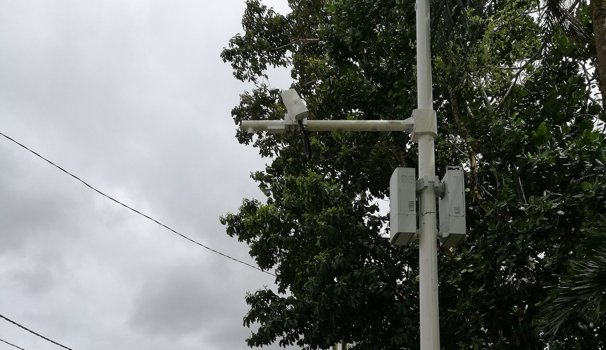 Safe City Project - Is this a broken camera?
