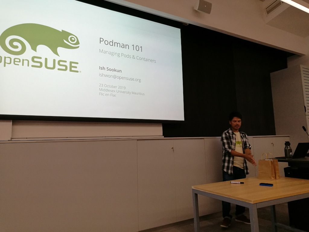 Podman 101 at the Middlesex University Mauritius
