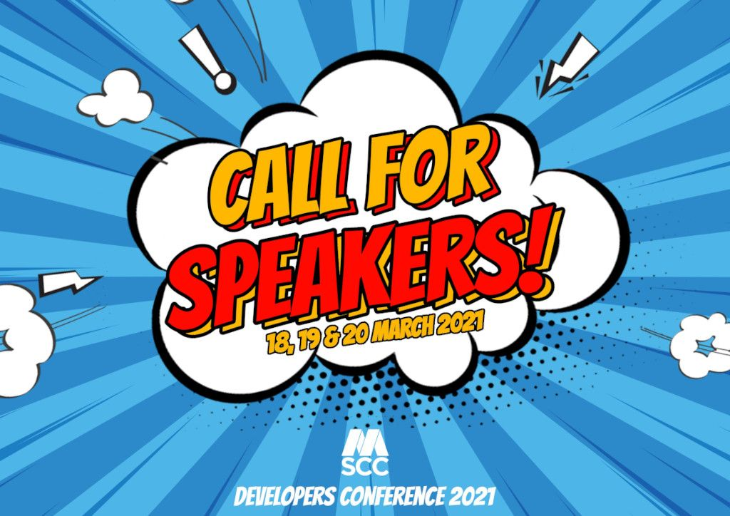 Developers Conference 2021 - Call for Speakers announced