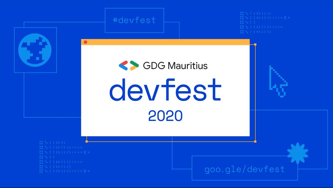 DevFest 2020 Mauritius