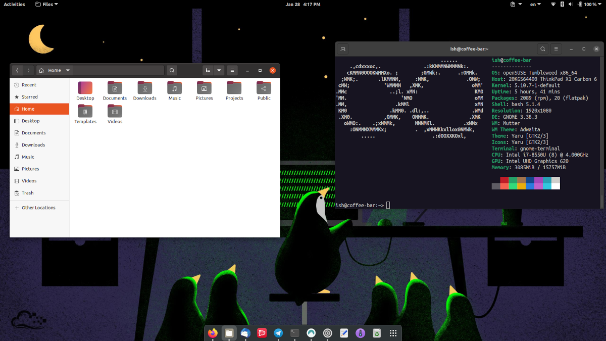 Grab a cool wallpaper for your Linux desktop