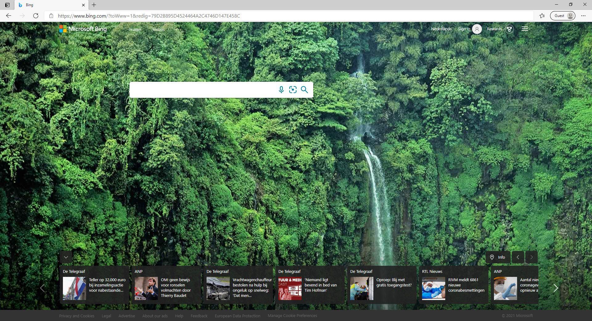 Screenshot taken on Microsoft Edge / Windows 10